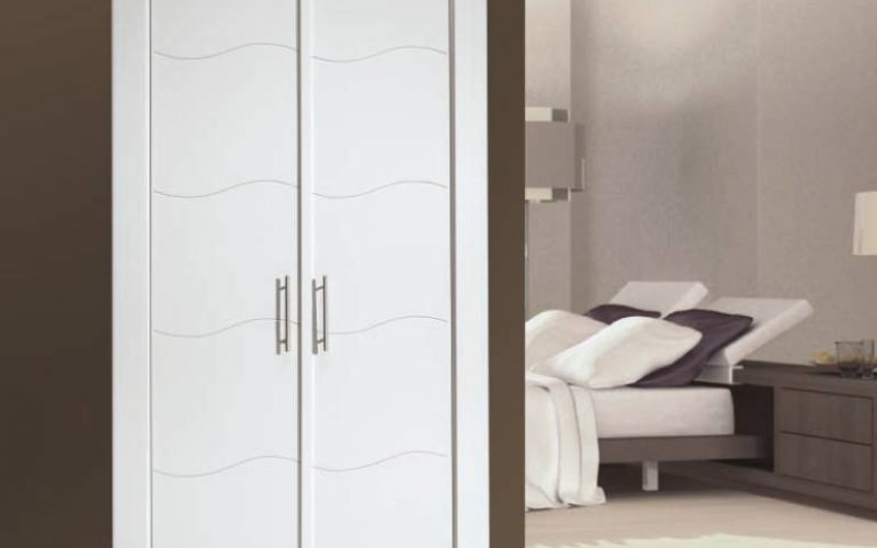 puerta armario lacada